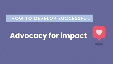 "Photo of Webinar on ""Advocacy for Impact"""
