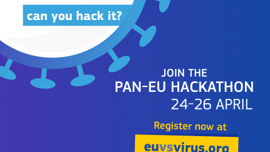 Photo of Pan-European Hackathon to develop innovative solutions to overcome societal challenges related to coronavirus