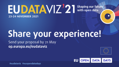 Photo of Become a speaker at the virtual #EUDataViz conference  in November 2021